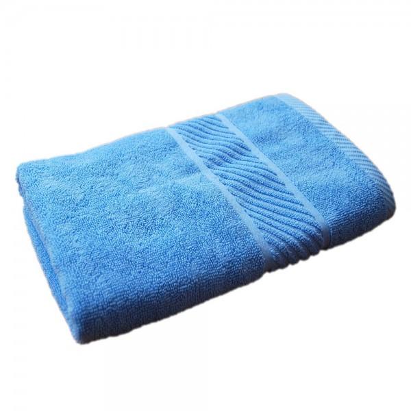Prosop de baie cu bordura Albastru