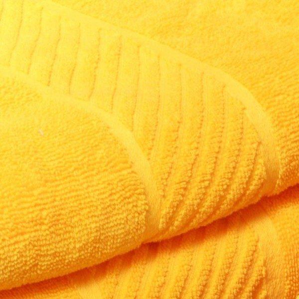 Prosop de baie cu bordura yellow