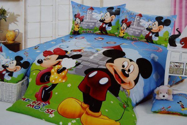 Cuvertura pat cu desene animate CPS10